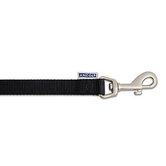 Heritage Nylon Padded Lead Black 12mm X1m