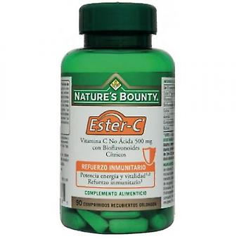 Nature's Bounty Ester C 500 mg 90 tablets with citrus bioflavonoids
