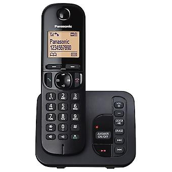 Panasonic KX-TGC220EB Digital Cordless segreteria telefonica con chiamate importune blocco Display LCD - nero