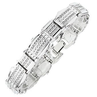 Iced Out Bling Armband - Zirkonia WAVE