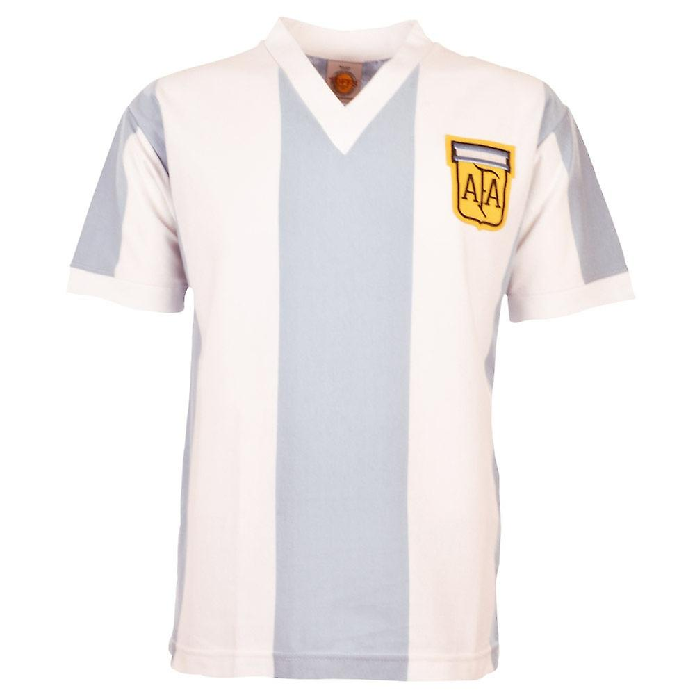 Argentina 1974 World Cup Retro Football Shirt