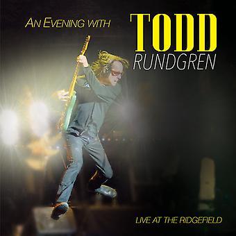 Todd Rundgren - aften med Todd Rundgren-Live på Ridgefield [Vinyl] USA importen