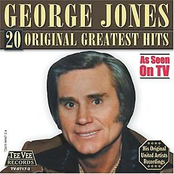 George Jones - 20 Original Greatest Hits CD] USA importerer