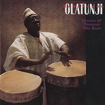 Babatunde Olatunji - trommer af lidenskab: The Beat [CD] USA import