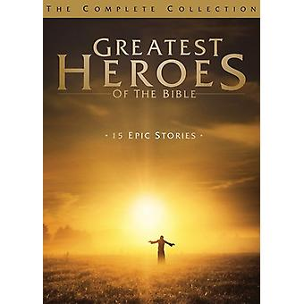 Greatest Heroes of the Bible: Complete Collection [DVD] USA import