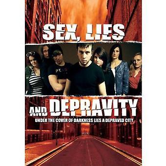Sex Lies & fordærv [DVD] USA importerer