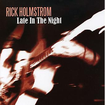 Rick Holmstrom - sent i aftes [CD] USA importen