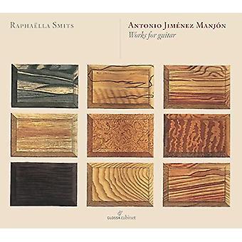 Manjon / Smits, Raphaella - obras para guitarra [CD] los E.e.u.u. las importaciones