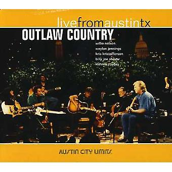 Outlaw Country - Outlaw land [CD] USA importeren