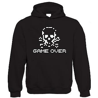 Vectorbomb, Game Over, Retro Video Game Hoodie