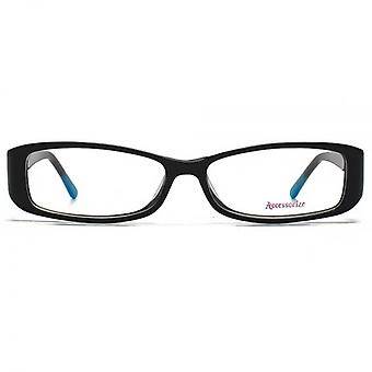 Accessorize Rectangle Glasses In Black