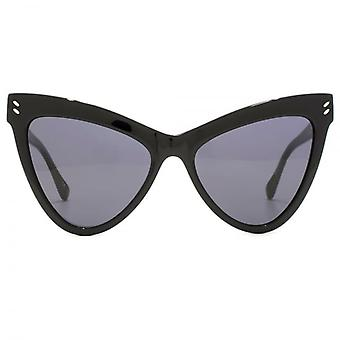 Stella McCartney Essentials Extreme Cateye Sunglasses In Black