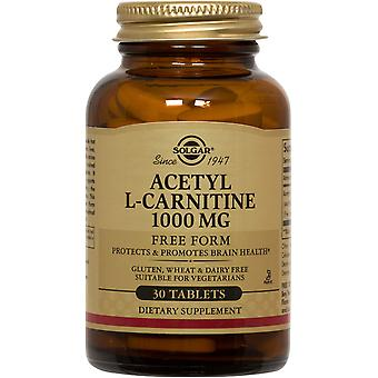 Solgar Acetyl L-Carnitine 1000 mg Tablets 30ct