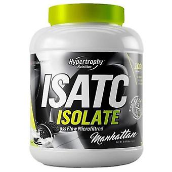 Hypertrophy Nutrition Isolate ISATC cookies Manhattan Black 912 Gr