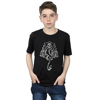 Harry Potter Boys Dark Mark Crest T-Shirt