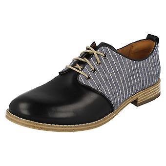 Damen Clarks Smart Lace Up Mode Schuhe Zyris Toledo