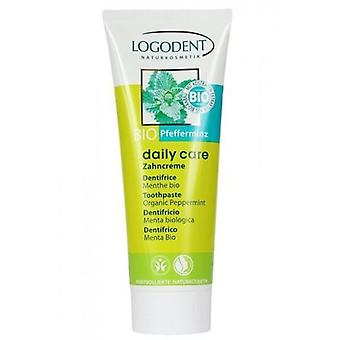 Logona Daily Care Toothpaste Mint without fluoride
