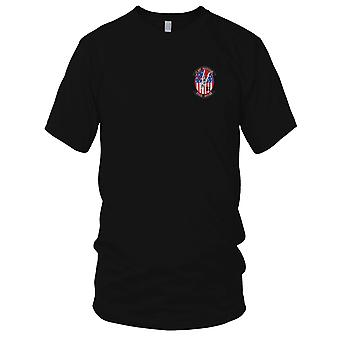 US Navy VF-161 Rock Rivers Embroidered Patch - Mens T Shirt