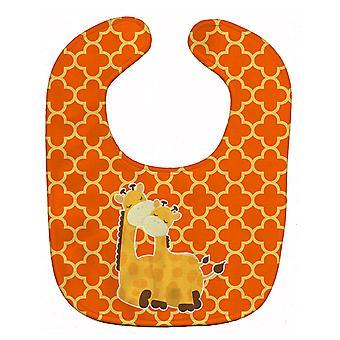 Carolines Treasures  BB8588BIB Giraffes Baby Bib