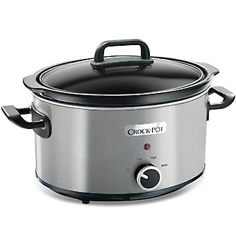 CROCK POT Slow Cooker 3.5 l Manual Rostf