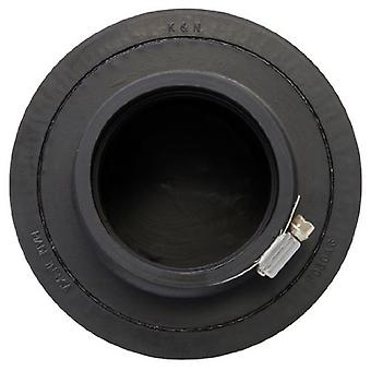 K&N RU-3570 Universal Clamp-On Air Filter: Round Tapered; 3 in (76 mm) Flange ID; 5 in (127 mm) Height; 6 in (152 mm) Ba