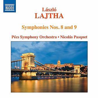 Lajtha/ペーチ交響楽団/Pasquet - オーケストラの作品 [CD] アメリカ インポート