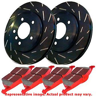 EBC Brake Kit - S4 Redstuff and USR rotors S4KF1076 Fits:SUBARU  2005 - 2011 IM