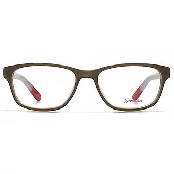 Accessorize Square Glasses In Brown