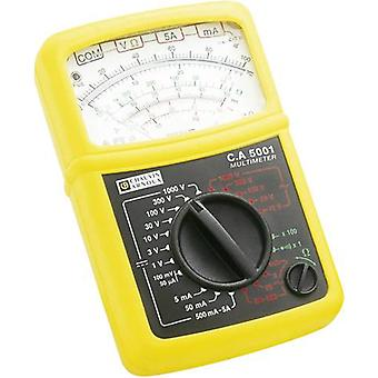 Handheld multimeter Chauvin Arnoux C.A 5001 Calibrated to: Manufacturer's standards (no certificate)