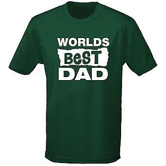 Mundos mejores padre cumpleaños papá de día Mens t-shirt 10 colores (S-3XL) por swagwear
