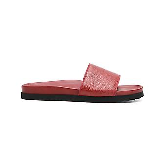 Buscemi men 417SMSLIED990A0045 red leather sandals