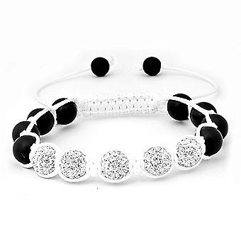 Iced out unisex bracelet - FIVE ICED BALLS
