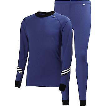 Helly Hansen Boys & Girls Junior HH Dry Baselayer Top & Bottoms Set