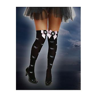Kousen en been accessoires knie sokken voor piraat