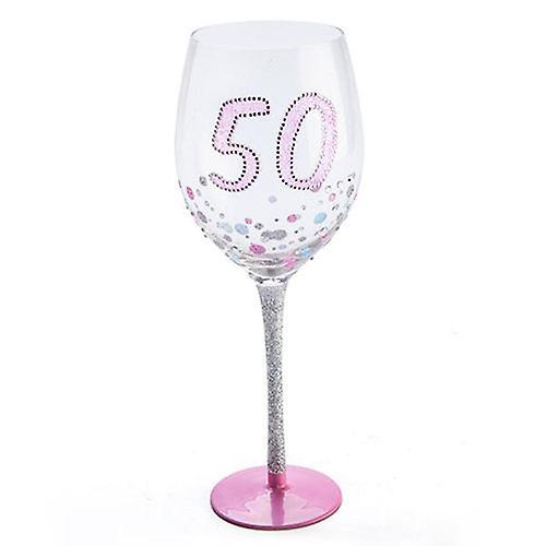 Birthday Sparkle Wine Glass