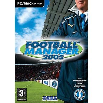 Football Manager 2005 (MacPC CD)