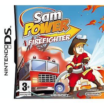Sam Power Fire Fighter (Nintendo DS)