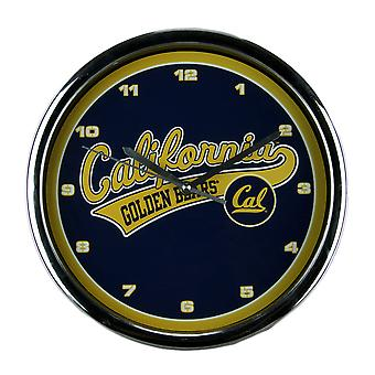 Berkeley University of California Golden Bears parete orologio cromato telaio
