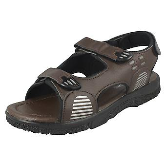 Mens Mozax Casual Sandals B226490 - Brown Synthetic - UK Size 7 - EU Size 41 - US Size 8