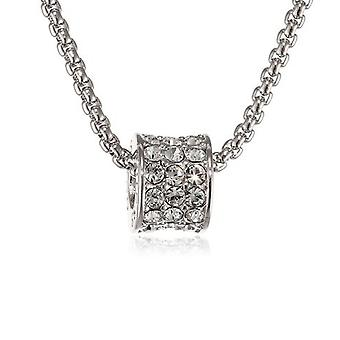 Guess ladies chain necklace cubic zirconia stainless steel UBN21589