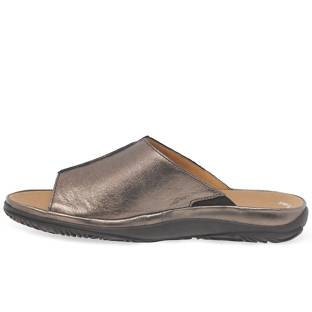 Fit Casual Idol Leather Wide Gabor Mules qTvtHTn