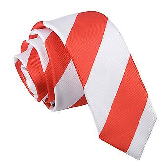 Red & wit gestreepte mager gelijkspel