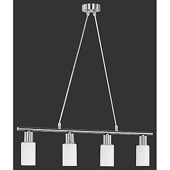 Trio belysning Mars moderne nikkel Matt Metal vedhæng