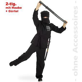 Ninja costume children Ninjaanzug karate fighters Shadow Warrior child costume