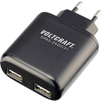 USB charger VOLTCRAFT SPAS-2400/2+ SPAS-2400/2+ Mains socket