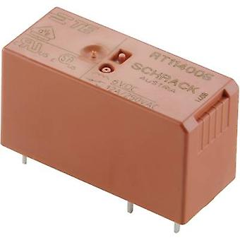 TE Connectivity RT114524 PCB relays 24 V AC 12 A 1 change-over 1 pc(s)