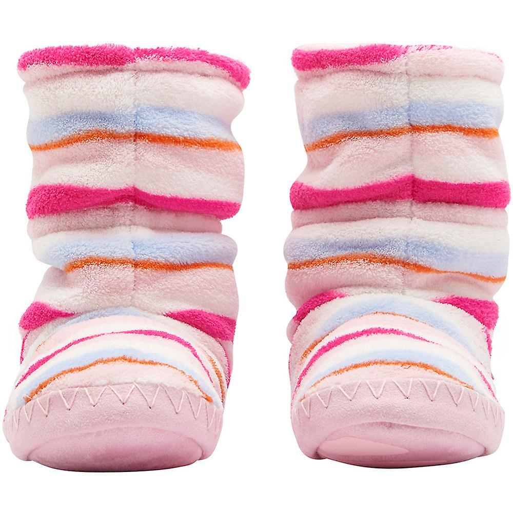 Joules Girls Super Soft Slipper Sock Warm Boots Bootie