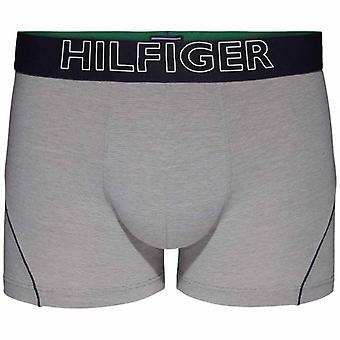Tommy Hilfiger Cotton Athletic Trunk, Grey Heather, Large