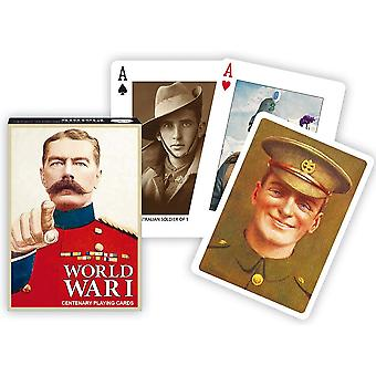 World War 1 Set Of Playing Cards