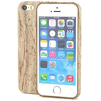 Apple iPhone 6 / 6s TPU Mobile Shell hout optica case vintage beschermhoes